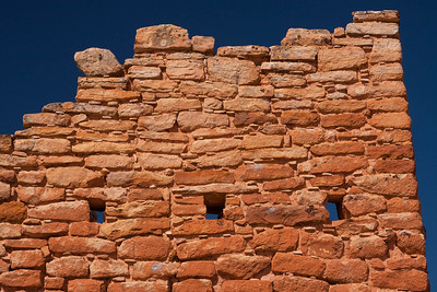 A Closeup of a Portion of Castle House at Hovenweep
