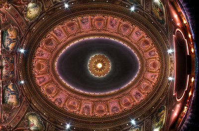 """""""The Wang Theatre Ceiling"""" September 9th, 2011"""