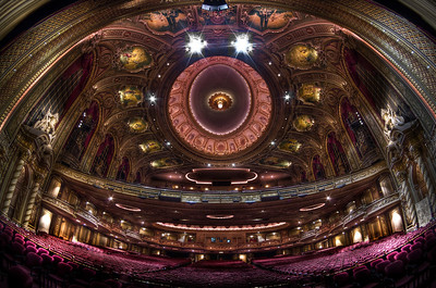 """""""Fisheye View from the Wang Theatre Stage"""" September 9th, 2011"""