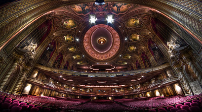 """""""View from the Wang Theatre Stage"""" September 9th, 2011"""