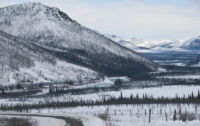 Overlooking the Koyukuk River  standard sizes maximum 10x15