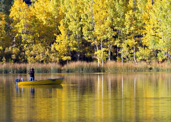 June Lake Fisherman