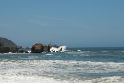 Morning tide, California Coast