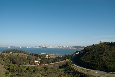San Francisco Bay from Marin