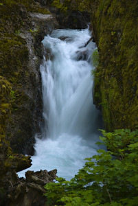 Falls along Tanner Creek