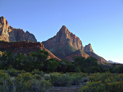 Fall color, Zion National Park