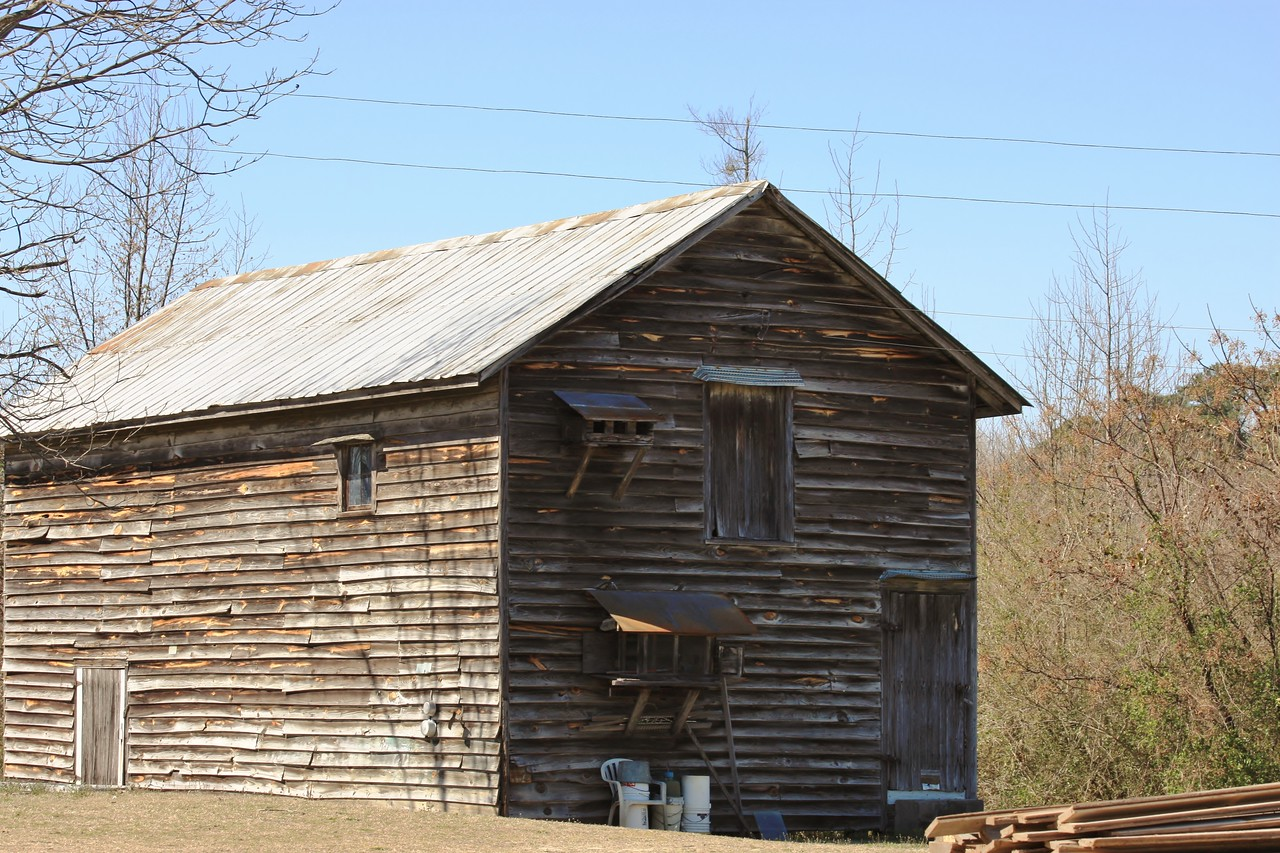 NC, PM Staab,Old buildings,old barn,homing pigeon roost,