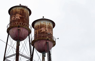 White's Water Towers Downtown Wilson, NC