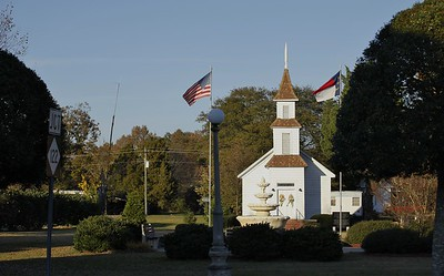 Antique Church that is a museum located in Hobgood, NC