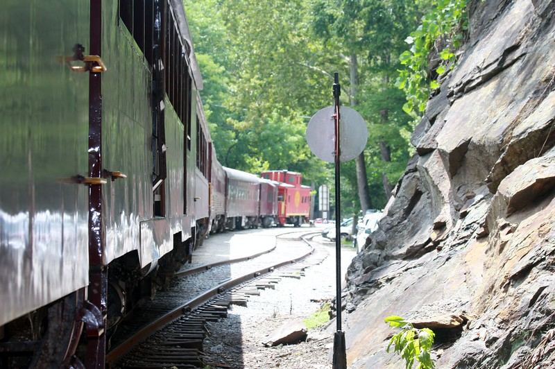Train in Bryson City NC