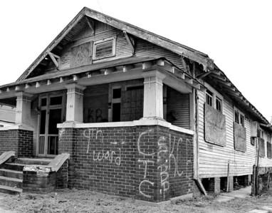 Ninth Ward, New Orleans, Louisiana. 2011.