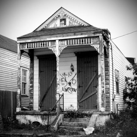 Ninth Ward, New Orleans, Louisiana. 2011.