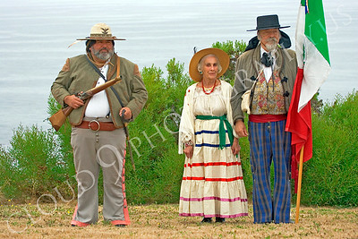 HR-EWSS 00003 A trio of early western Spanish settlor historical reenactors, by Peter J Mancus