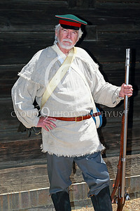 HR-FtRossRUSS 00005 A Ft Ross California male civilian Russian militia settlor historical re-enactor picture by Peter J Mancus