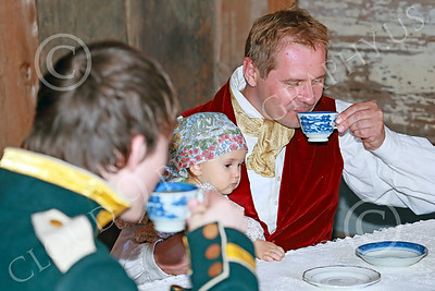 HR-FtRossRUSS 00020 Russian historical re-enactors enjoy a meal at Ft Ross California historial re-enactor picture by Peter J Mancus