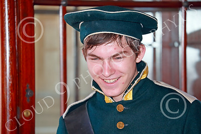 HR-FtRossRUSS 00016 A young uniformed male Russian Army soldier historical re-enactor at Ft Ross California historial picture by Peter J Mancus