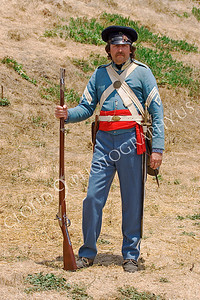 HR-USAMAWS 00003 An US Army Mexican-American War era soldier historical reenactor, by Peter J Mancus