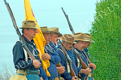 HR-USARR 00002 US Army Rough Rider soldier reenactors marching, by Peter J Mancus