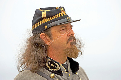 HR-ACWR 00010 An American Civil War Rebel officer historical reenactor, by Peter J Mancus