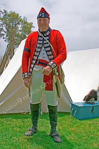 HR-ARWBR 00005 An American Revolutionary War British Redcoat soldier historical reenactor, by Peter J Mancus