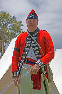 HR-ARWBR 00007 An American Revolutionary War British Redcoat soldier historical reenactor, by Peter J Mancus