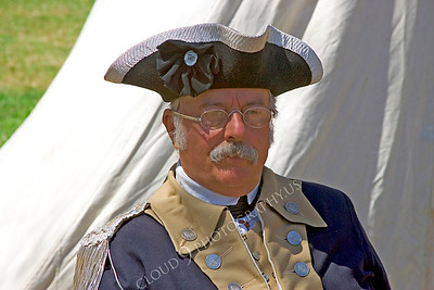 HR-ARWCAS 00002 An American Revolutionary War Continental Army soldier historical reenactor, by Peter J Mancus