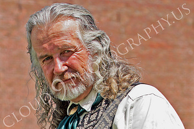 HR - AWGS 00002 American western gunslinger re-enactor in a relaxed pose, by Peter J Mancus