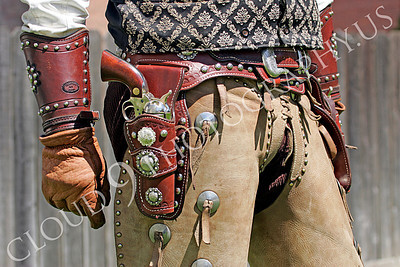 HR - AWGS 00006 An American western gunslinger re-enactor's work belt and tool, by Peter J Mancus