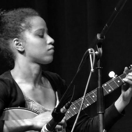 Kaia Kater-Hurst, banjo, April 2016.