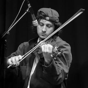 Mickey Nelligan, fiddle, April 2016.