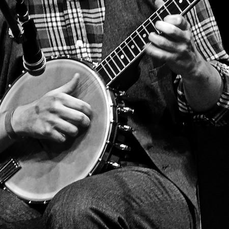 Austin Derryberry, banjo. April 2016.