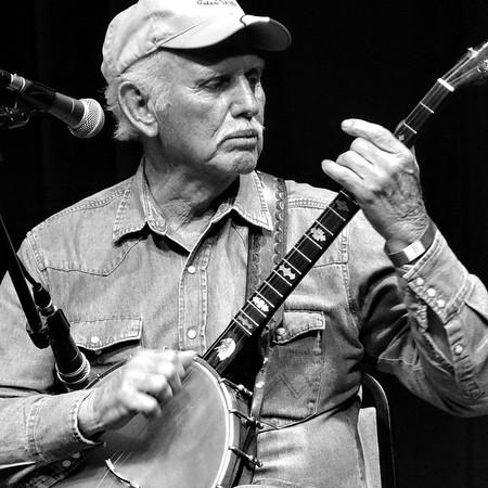 James Hardin, banjo. April 2016.