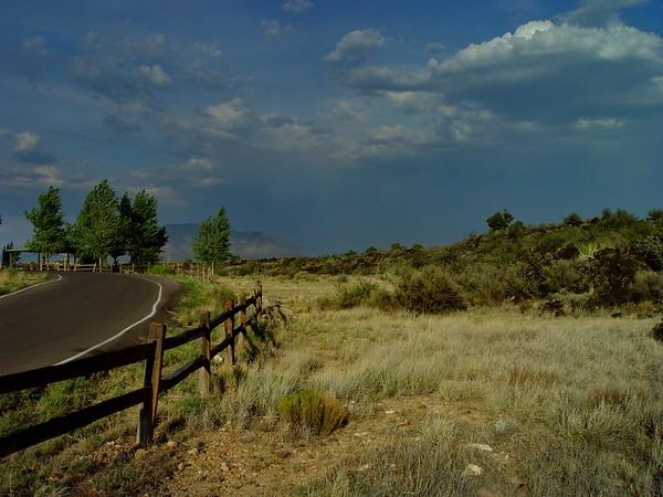 Along the horizon. New Mexico, 2004.