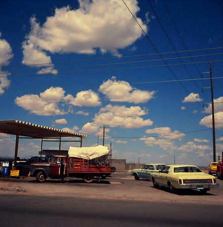 New Mexico. July 1985.