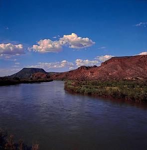 Rio Grande, New Mexico, July 1985.