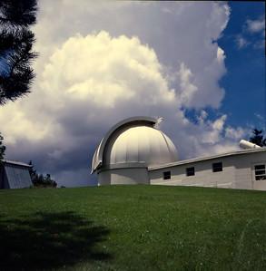 National Solar Observatory, Sacramento Peak, near Sunspot, New Mexico. July 1985.