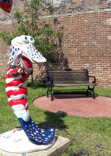 Patriotism- Downtown Fernandina Beach, FL