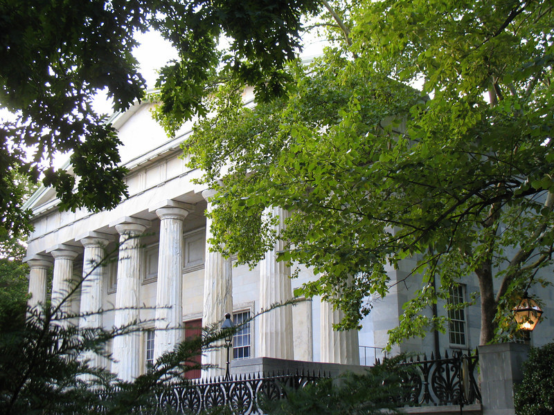 Second Bank of the United States, established in 1816, Philedelphia