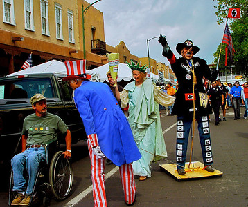 Parade, Santa Fe, New Mexico, 2004.