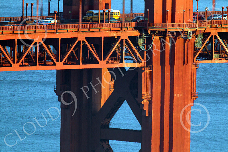 ENGF-GGB 00222 A tight crop of part of the Golden Gate Bridge's south tower, by Peter J Mancus