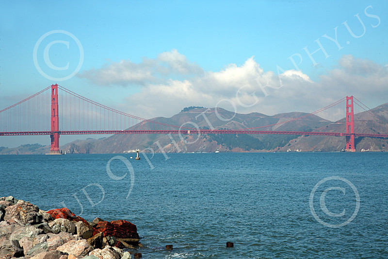 ENGF-GGB 00006 The Golden Gate Bridge in daylight, by Peter J Mancus