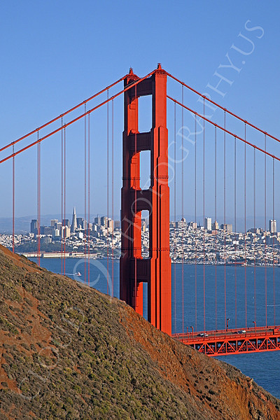 ENGF-GGB 00003 Golden Gate Bridge in San Francisco by Peter J Mancus
