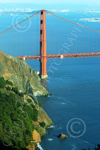 ENGF-GGB 00067 A Golden Gate Bridge seascape, by Peter J Mancus