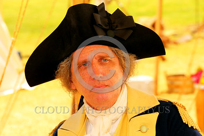 HR-GenGWash 00004 A General George Washington historical contemplates the American Revolutionary War for liberation from the British Crown, historical re-enactor picture by Peter J Mancus