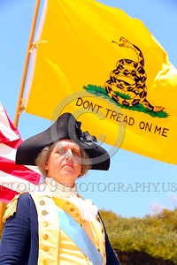 HR-GenGWash 00005 A General George Washington historical re-enactor manifests his commitment to secure independence from the British Crown, historical re-enactor picture by Peter J Mancus