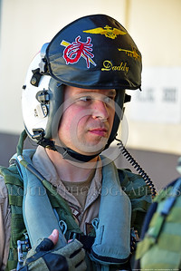 ACM 00421 This US Navy Boeing EA-18 Growler pilot at NAS Fallon assigned to VAQ-132 SCORPIONS would volunteer for combat even if his chances for survival were only 20%, aircrew picture by Peter J  Mancus