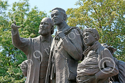 STY-BFREE 00002 A celebration of freedom for Black slaves in the United States, statue picture by Peter J Mancus