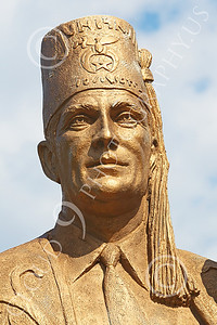 STY - SHRINERS 00009 A tight crop of a representative Shriner's face, by Peter J Mancus