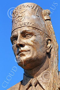 STY - SHRINERS 00007 A tight crop of the face of an artistic expression of a Shriner, by Peter J Mancus