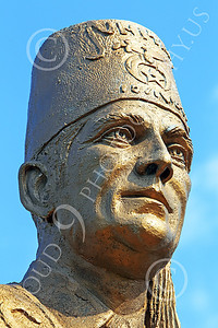 STY - SHRINERS 00003 A tight crop of the face of a representative Shriner, by Peter J Mancus